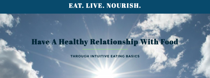 Intuitive Eating (Non diet) Virtual 6-Week Class begins 3/22, 8-9 pm EST