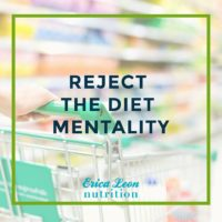 intuitive eating with erica leon nutrition