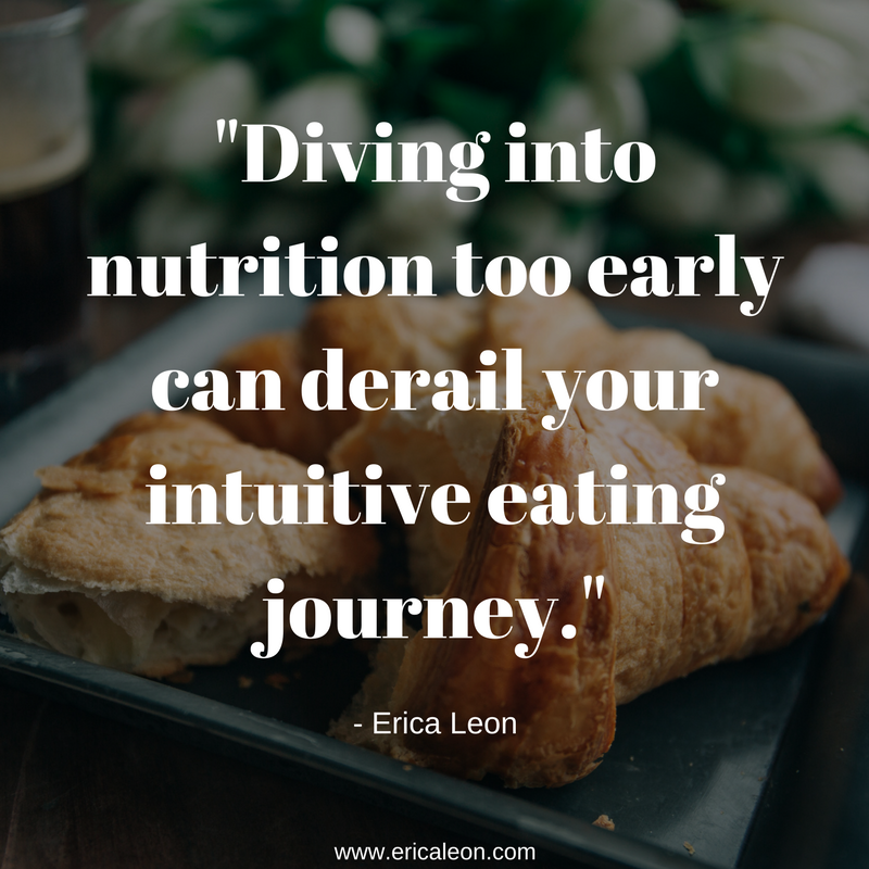 Gentle nutrition is the last principle of intuitive eating.