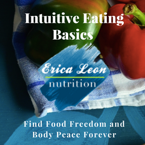 Intuitive eating basics nutrition program