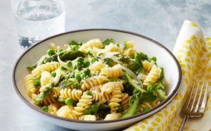 Pasta and Vegetables, all foods fit