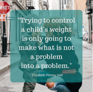 Non-diet for kids to prevent body image issues