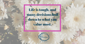 How can Values help me Recover from Disordered Eating and/or Chronic Dieting?