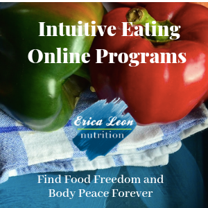 Intuitive eating programs