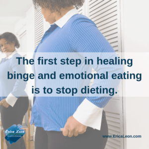 heal binge and emotional eating