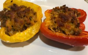 healthy and delicious stuffed peppers recipe