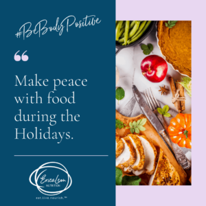 practice new skills to assist with eating disorder recovery during the holidays