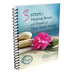 3 steps to making peace with food ebook