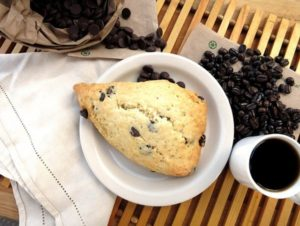 chocolate chip pecan scones