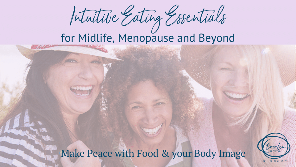 intuitive eating program for midlife menopause
