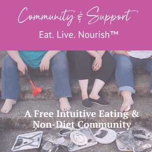 intuitive eating non diet community 2020