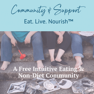 free intuitive eating group with erica leon