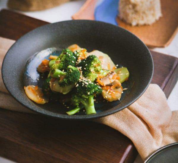 Sesame Ginger Broccoli