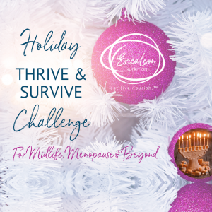 Holiday food Challenge with erica leon