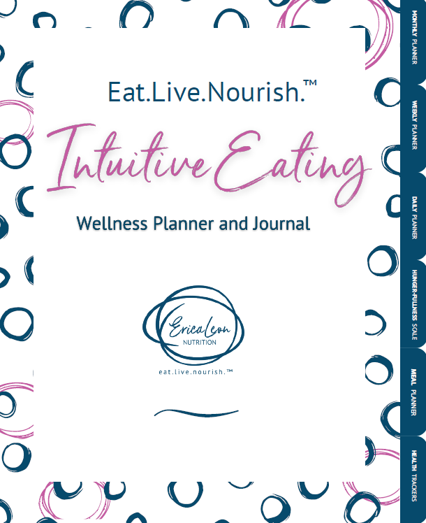 . Intuitive Eating Wellness Planner and Journal