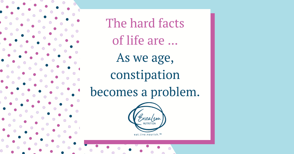 as women age constipation becomes a problem