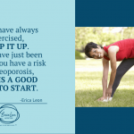 exercise for your health and help with osteoporosis