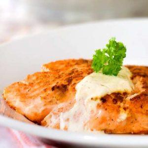 roasted salmon recipe